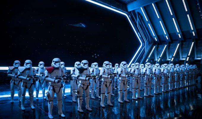 Cómo es Star Wars: Rise of the Resistance: