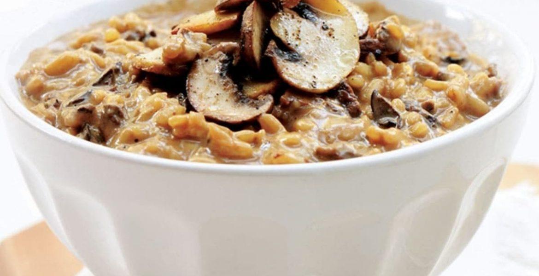 delicias italianas risotto hongos