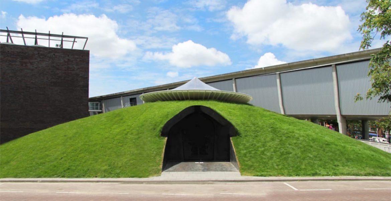 refugio urbano techo verde