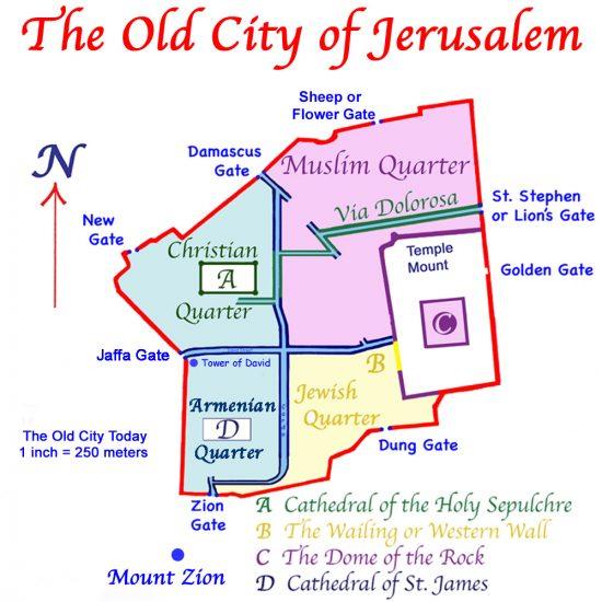 jerusalem mapa