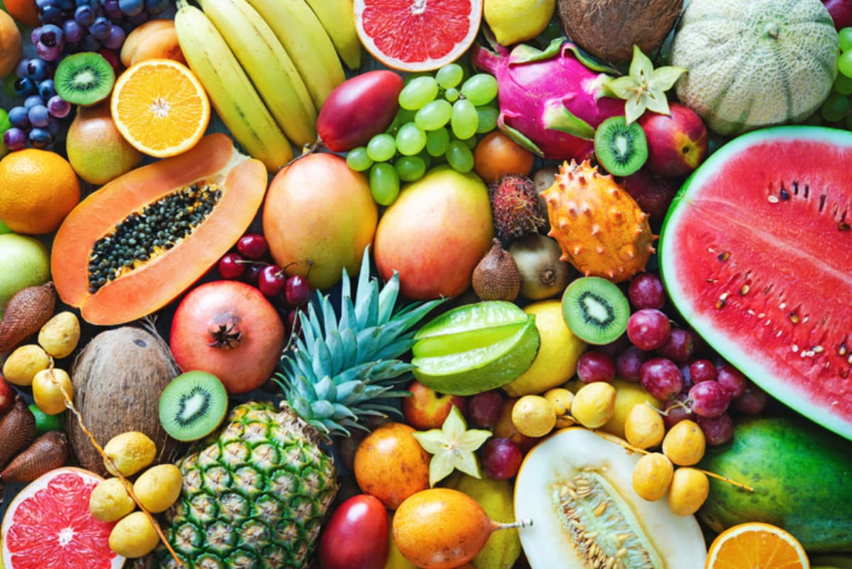 frutas con mas fibra