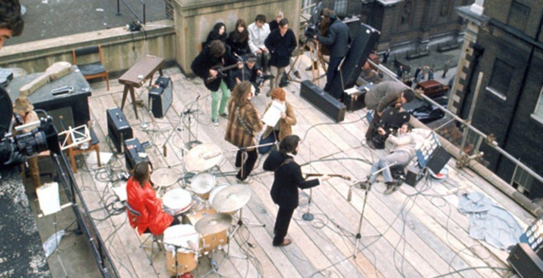 the beatles, concierto en la terraza
