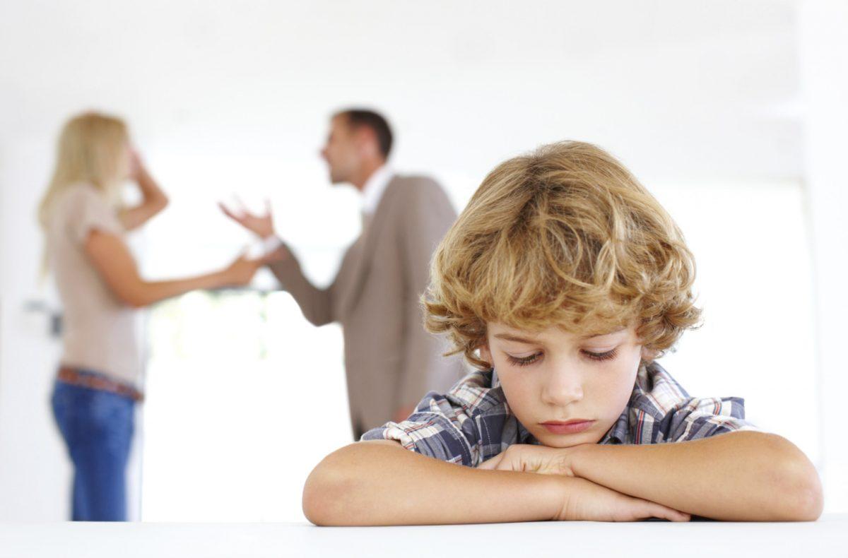 separacion padres hijos