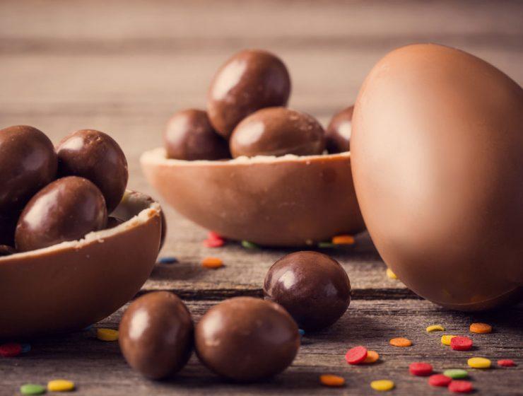 huevos de pascua chocolate