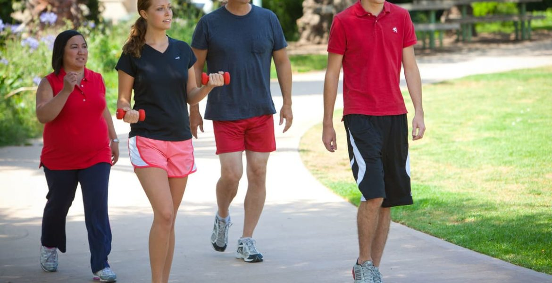 caminar y adelgazar