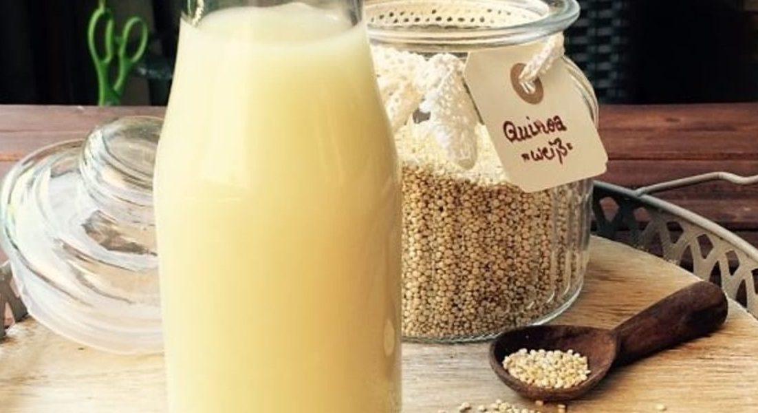 leche de quinoa