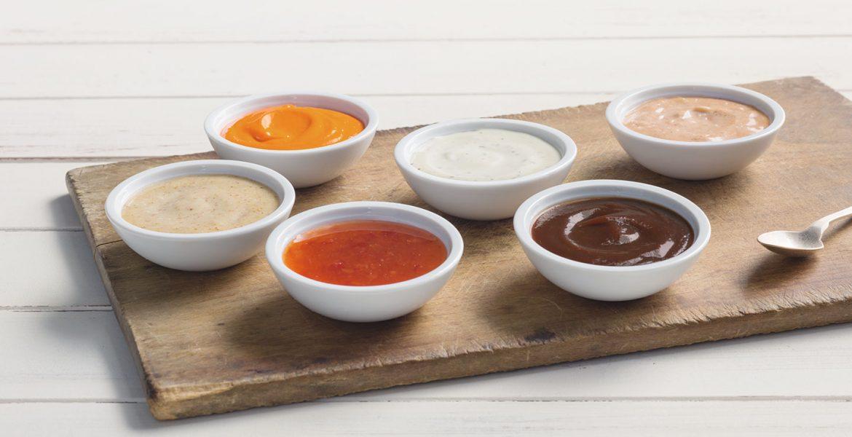 salsas bajas calorias