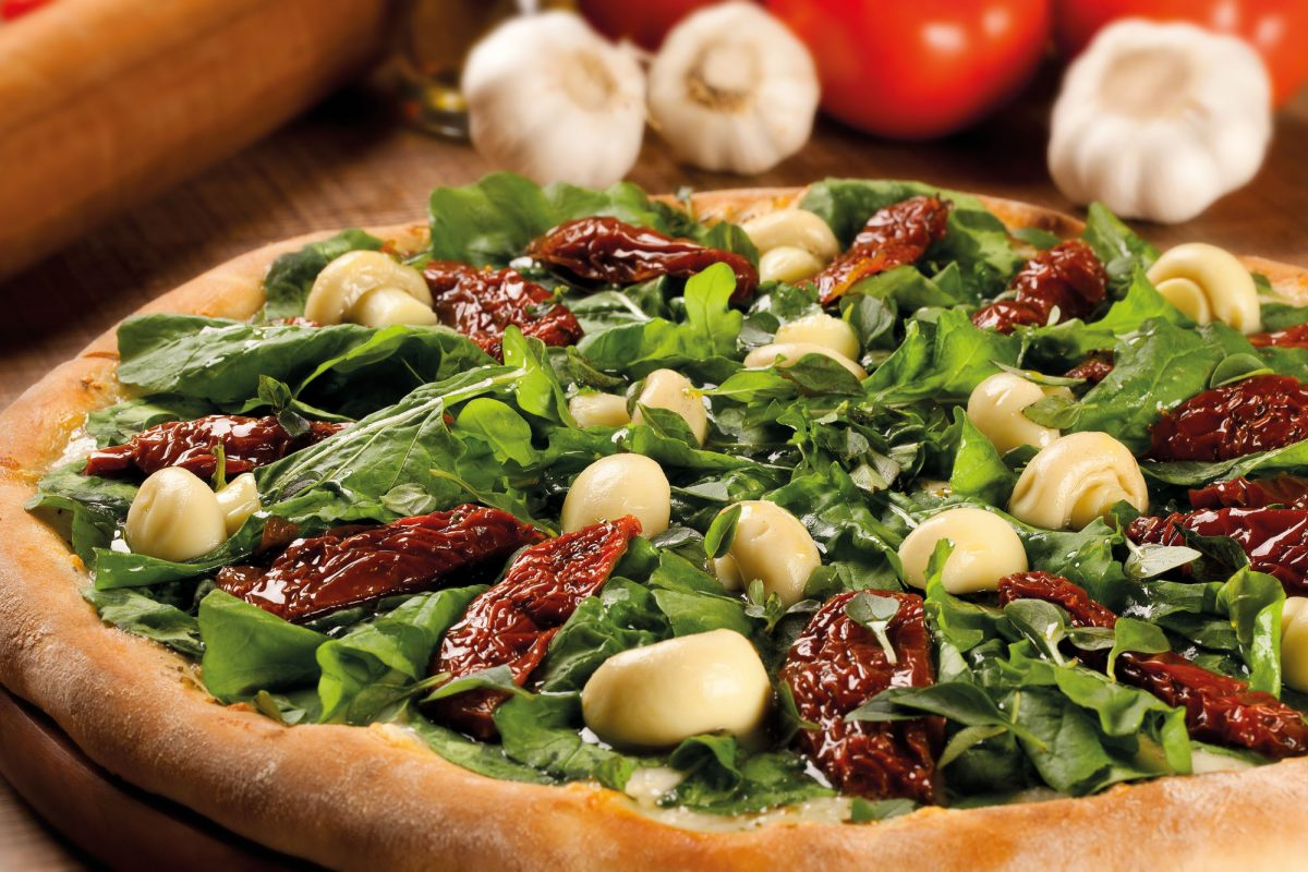 como hacer pizza vegana