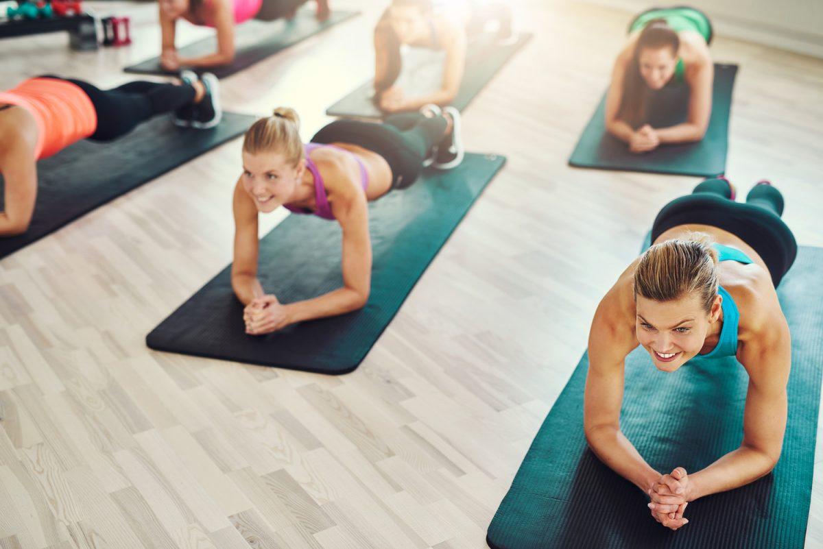 posturas de pilates