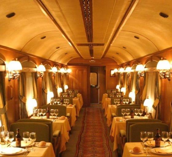 comedor tren de lujo
