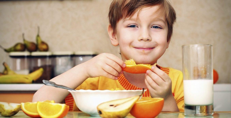 alimentacion saludable chicos