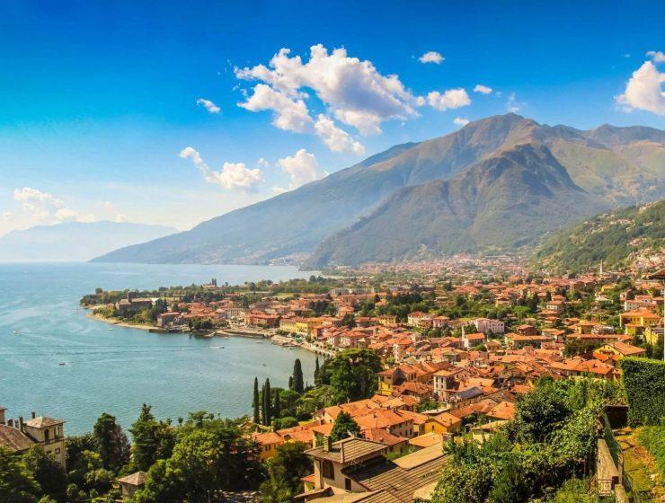 lagos del norte de italia