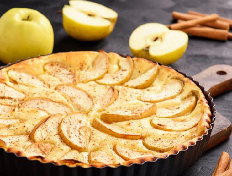 torta de manzana dietetica