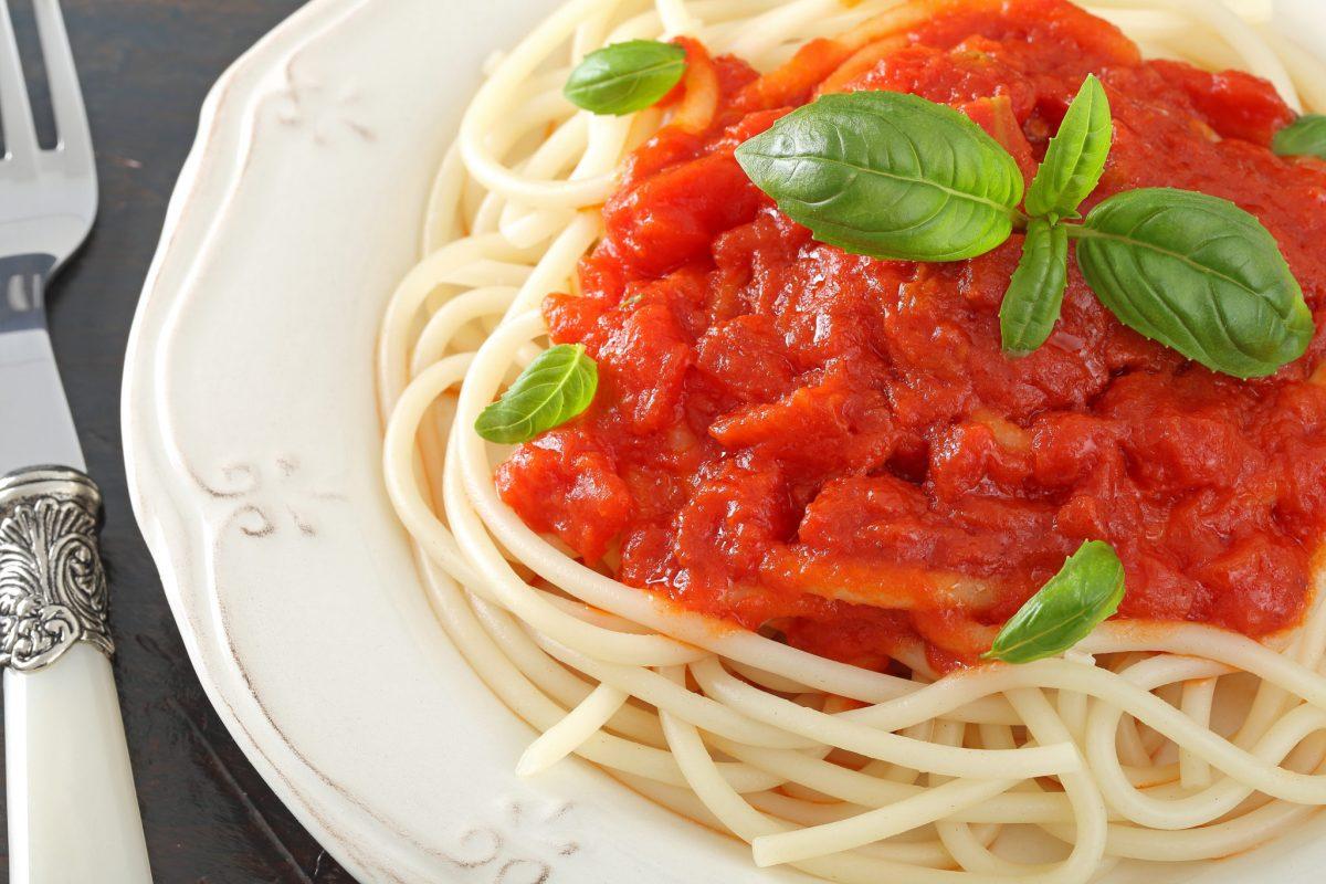 salsa para pasta pomodoro