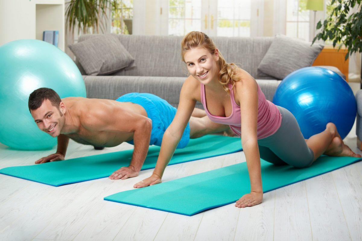 salud en casa ejercicios