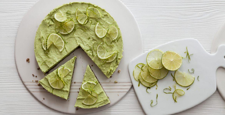 cheesecake de lima y palta