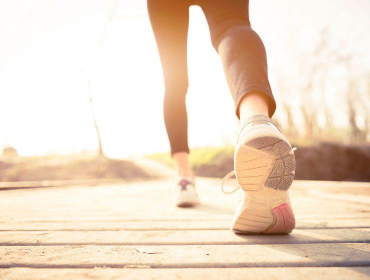 caminar o dieta