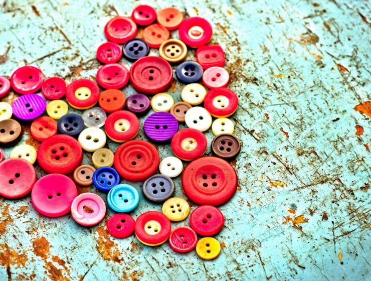 los botones de mi madre