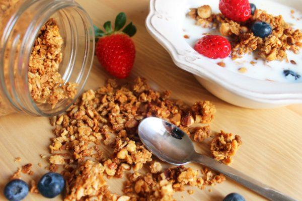 gelatina con yogurt