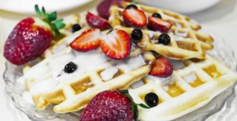 waffles dulces y salados