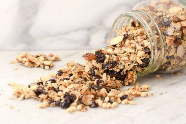 granola receta