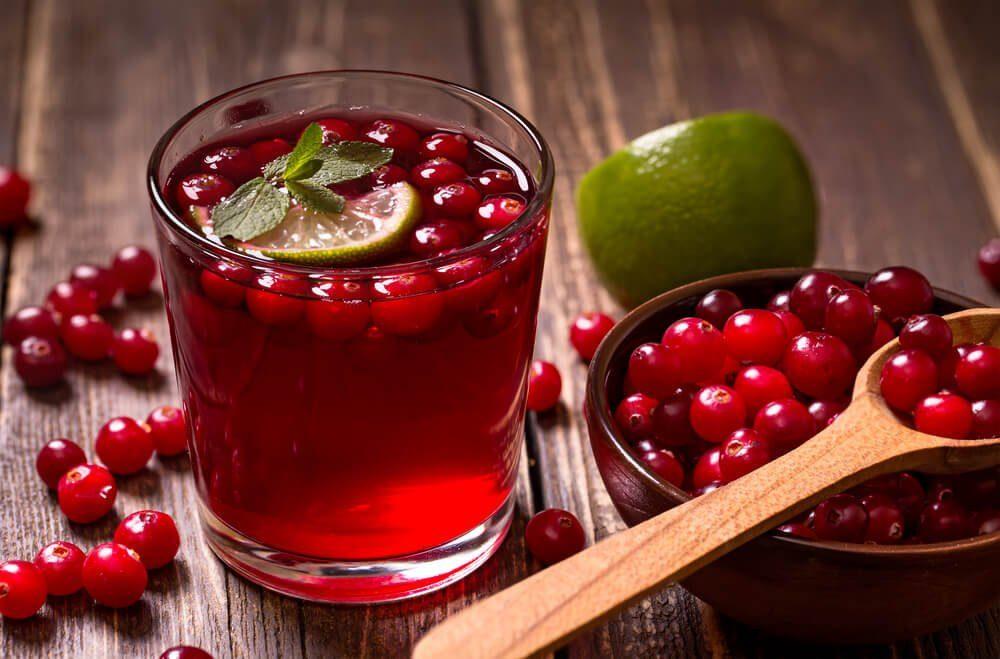 jugos de frutos rojos