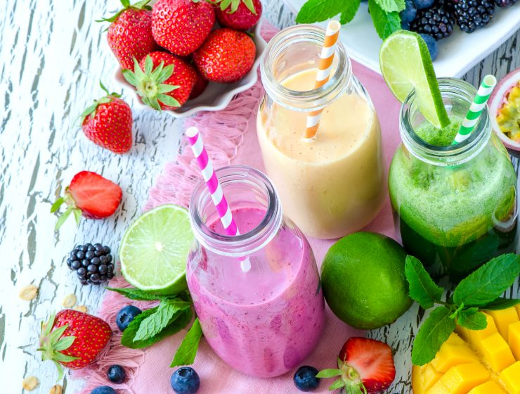 recetas de licuados de frutas