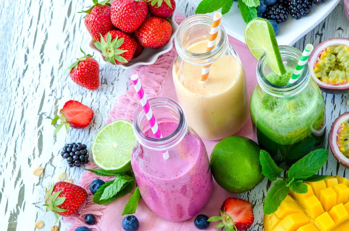licuado de frutilla con leche beneficios