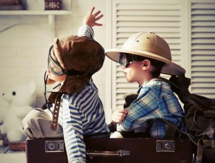 Lugares de vacaciones con niños