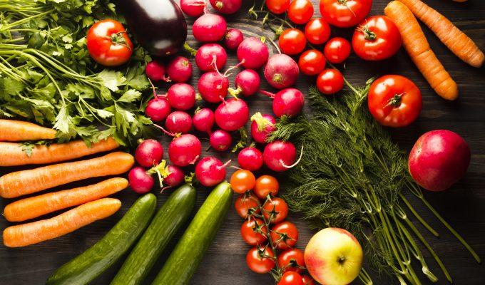 colores de comida