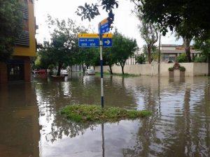 inundaciones en Chaco
