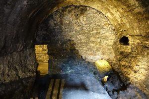 tuneles del castillo de edimburgo