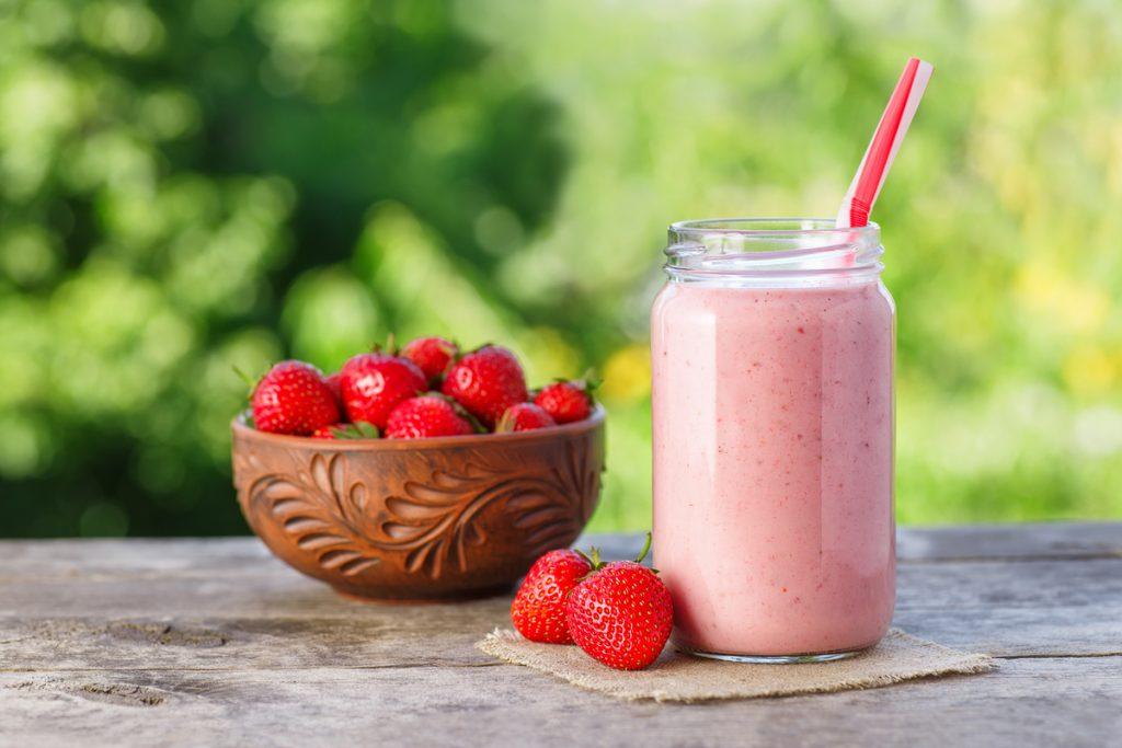 Smoothies saludables: recetas bajas calorías