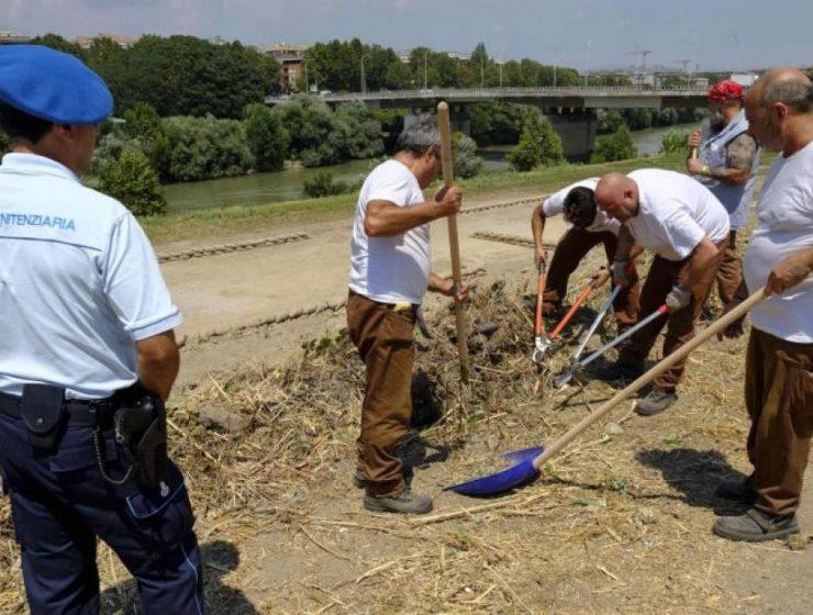 presos italia trabajo