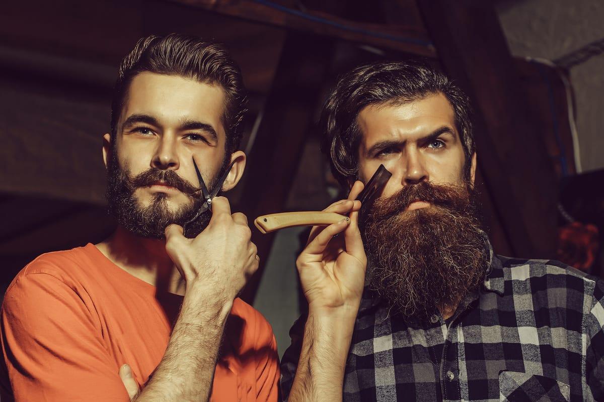 recortar la barba