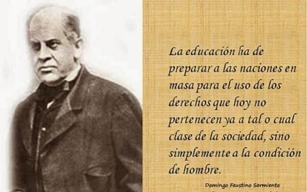Domingo F Sarmiento