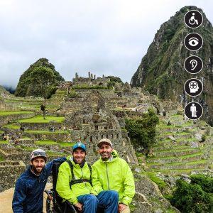 Machu Picchu en silla de ruedas