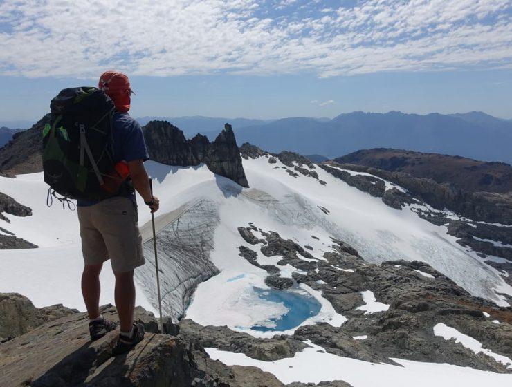 trekking de montaña el bolson