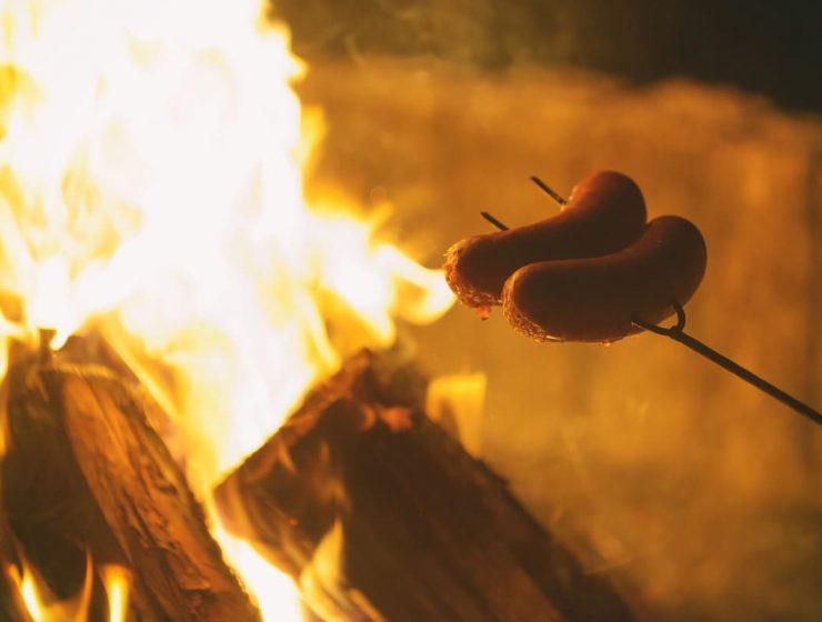 cómo hacer fuego para asado