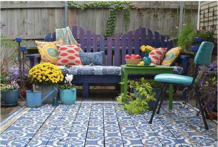 ideas para patios pisos