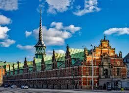 antiguo edificio de la Bolsa de Copenhague