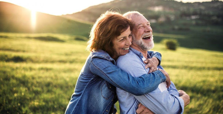 parejas de adultos mayores