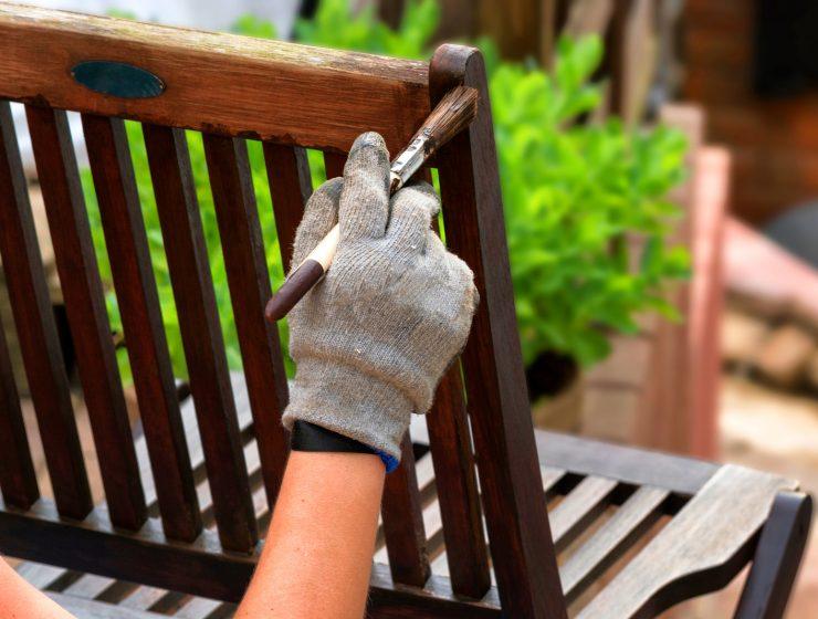 como restaurar un mueble de madera