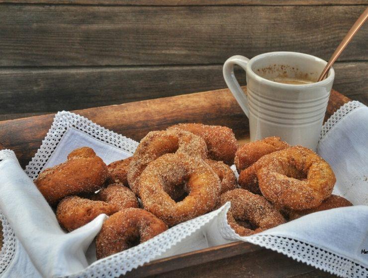 Receta española rosquitas fritas azucaradas