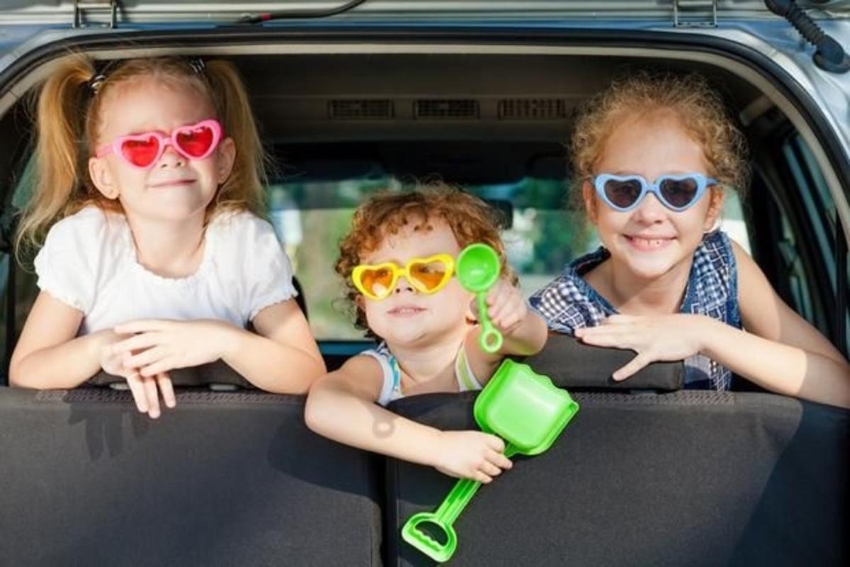 viajar con chicos en auto