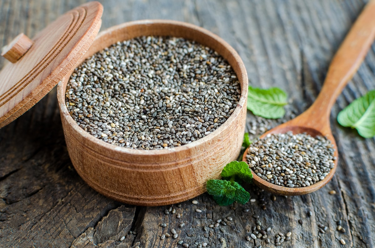 como consumir la semilla de chia