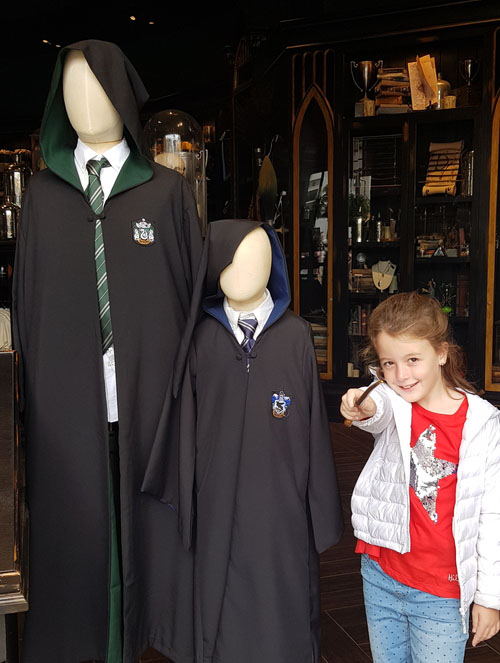 harry potter magia