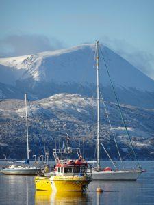 esquiar en ushuaia