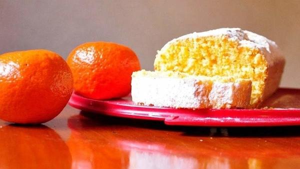 budin de mandarina