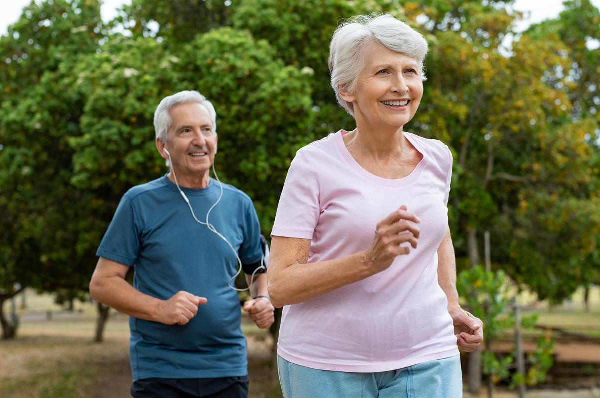 caminar y ejercicios